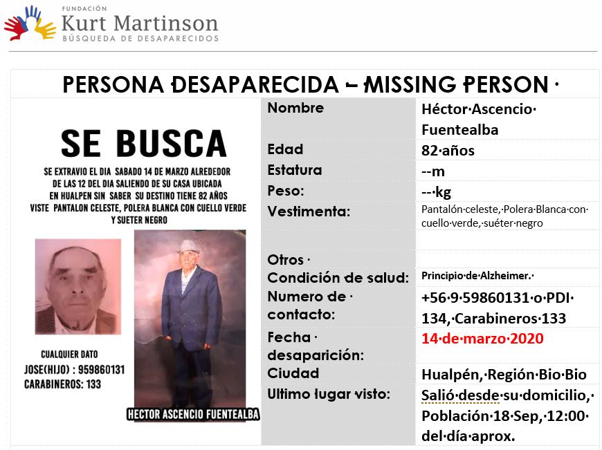 Afiche Hector Ascencio F.